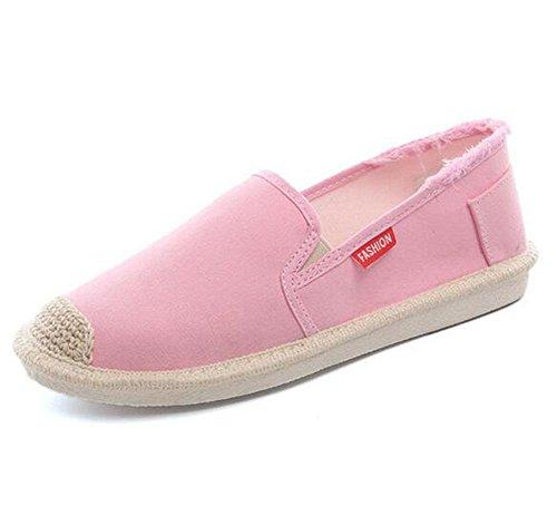 Weibliche beschuht Stoffschuhe KUKI Schuhe flache EU36 CN36 der US6 Segeltuchschuhe 2 zufällige UK4 Sd0dYr