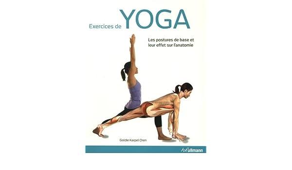 Exercices de yoga : Les postures de base et leur effet sur l ...