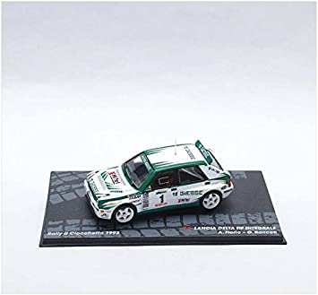 IXO Coches Rally 1:43 1/43 Lancia Delta HF Integrale Fiorio Rancati 1993 eRAL098: Amazon.es: Juguetes y juegos