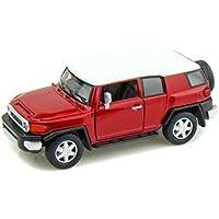 KINSMART RED COLOR TOYOTA FJ CRUISER Diecast Model Car 1:36 Scale No Box