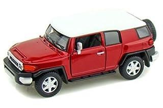 KINSMART RED COLOR TOYOTA FJ CRUISER Diecast Model Car 1:36 Scale No Box (B01B7H2Y0I)   Amazon price tracker / tracking, Amazon price history charts, Amazon price watches, Amazon price drop alerts