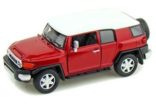 KINSMART RED COLOR TOYOTA FJ CRUISER Diecast Model