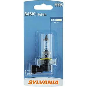 SYLVANIA 9006 Basic Halogen Headlight Bulb, (Contains 1 Bulb)