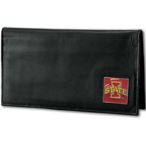 NCAA Iowa State Cyclones Deluxe Leather Checkbook Cover