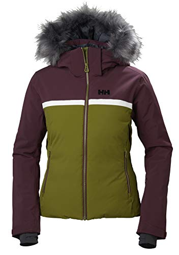 Helly Hansen 65646 Women's Powderstar Jacket, Fir Green - Medium