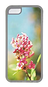 Pink Flowers 5 Cases For iPhone 5C - Summer Unique Cool 5c Cases
