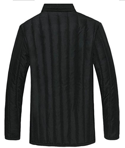 Coats Lined padded today Long UK Men's Winter 1 Sleeve Warm Fleece Cotton xOIpvO1qw