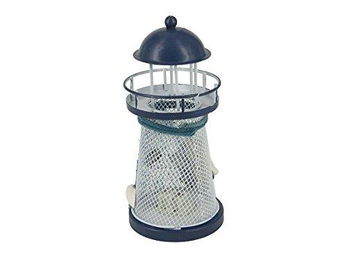 Nautical-Anchor-Color-Changing-LED-Lantern-Night-Light-Metal-Vintage-Openwork-Ocean-Lighthouse