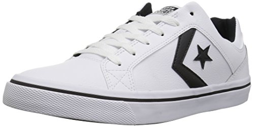 Sneaker White Us Low Distrito El 6 Top Converse Leather M black white xXw4UTnq