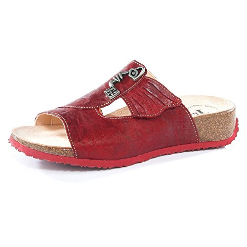 Think! Women's 86351-72 Fashion Sandals Red Red Red