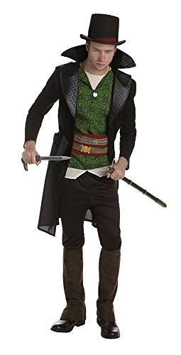[Palamon Men's Assassin's Creed Jacob Frye Classic Costume, Green, Medium] (Classic Halloween Costumes 2016)