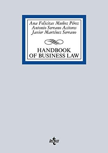 Descargar Libro Handbook Of Spanish Business Law Ana Felicitas Muñoz Pérez