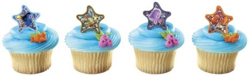 Finding NEMO Fish DORY  Birthday PARTY Favor CUPCAKE Cake PO