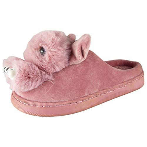 Chaussures Taille Rose Dames Nouveauté Chaud Confortable Intérieur Farcies Emoji 36 Funky 43 Pantoufles Femmes vvOqpwx8