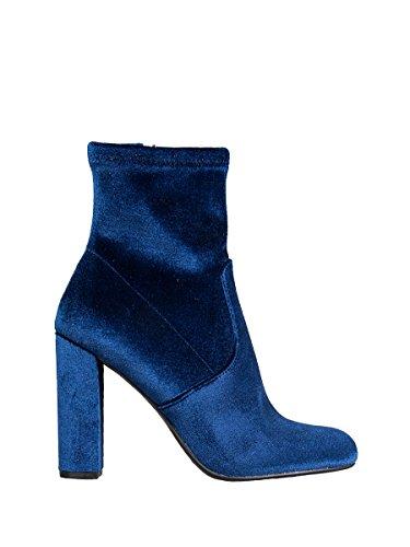 Steve Madden SMSEDITT, Botas Cortas Mujer Azul