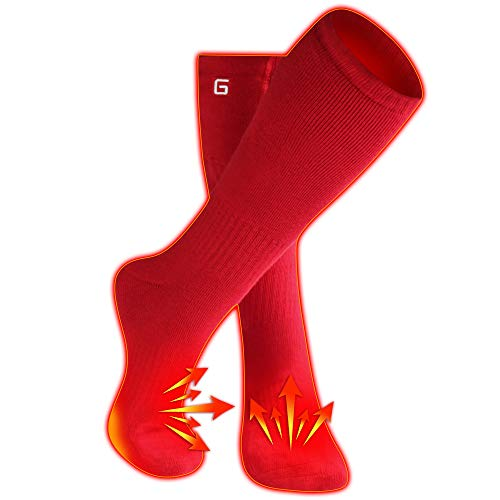 Autocastle Heated Socks for Men Women with Rechargeable Battery,Sports Outdoor Foot Warmer