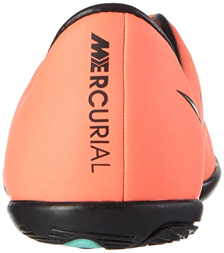 Nike Jr Mercurial Victory V Tf, Zapatillas de Deporte para Niñas Amarillo / Plateado / Morado (Brght Mng / Mtllc Slvr-Hypr Trq)