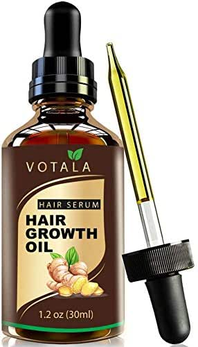 Hair Growth Serum, Votala Hair Growth Treatment, Hair Serum, Anti Hair Loss, Thinning, Balding, Repairs Hair Follicles, Promotes Thicker, Stronger Hair, And Promotes Hair Regrowth