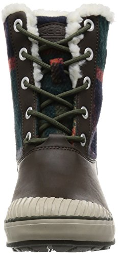 KEEN Damen Elsa Waterproof Winterstiefel Kakao Brown