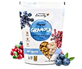 Grandma Emily Organic Mixed Fruits Granola Cereal Made With Organic Raisins Blueberries and Cranberries 11.64 oz (4 Pack)