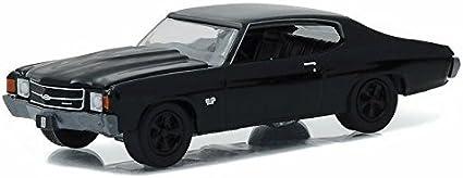 1//64 GREENLIGHT BLACK BANDIT SERIES 16 1972 Chevrolet Chevelle SS 396