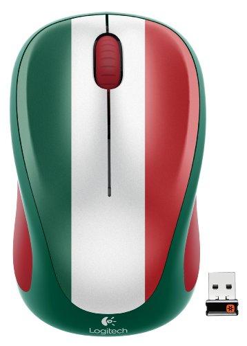 Logitech Wireless Mouse M317, Mexico Soccer Fan Edition