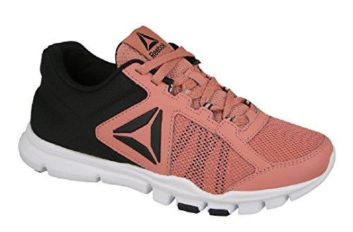 Reebok Yourflex Trainette 9.0 Mt, Zapatillas de Deporte para Mujer Rosa  (Sandy Rose /
