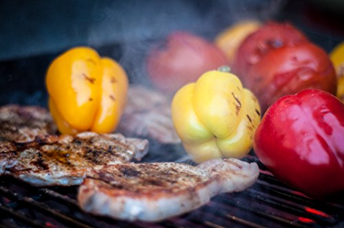 Grilling Chicken And Peppers
