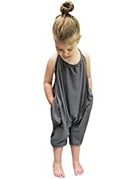Girls Jumpsuits and Rompers | Amazon.com