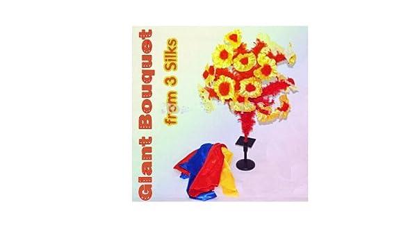 GOWE gigante ramo de 3 Silks - Magic Trick, Magic dispositivo, paraguas Magic, accesorios,: Amazon.es: Bricolaje y herramientas