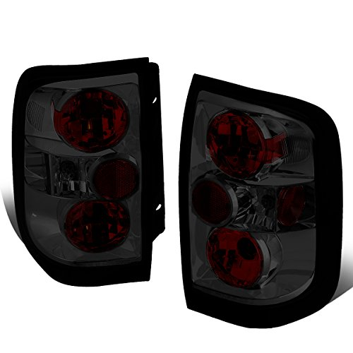 For 1996-2004 Nissan Pathfinder/Infiniti QX4 Pair Smoked Lens Altezza Style Tail Light Brake Lamps