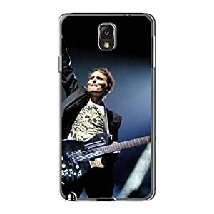 Scratch Protection Hard Cell-phone Cases For Samsung Galaxy Note3 With Support Your Personal Customized Lifelike Muse Image AlissaDubois