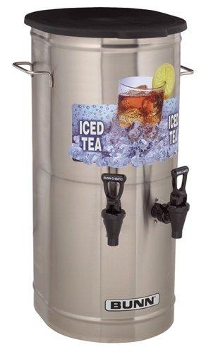 (BUNN Tea Concentrate Dispenser w/ Side Offset Handles)