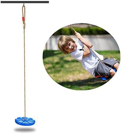 Tree Hanging Disc Monkey Rope Swings Seat Slides Outdoor Play Swingset Toys Gift
