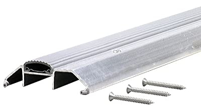 M-D Building Products 8029 Premium High Threshold with Vinyl Seal AP 118, 36 Inches, Aluminum