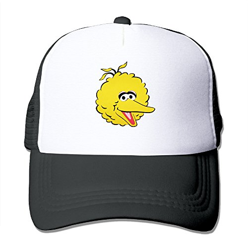 Big Bird Hat (Big Bird Measures Baseball Hat Unisex Mesh Cap)