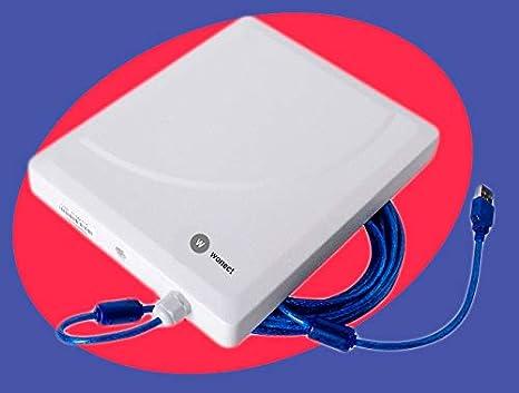 Adaptador Usb Wifi Wifisky 3000mW CON ANTENA 11dbi Omni y Regalo CD de Beini y tutorial de Auditoria Wifi