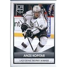 2016-17 Panini NHL #8 Lady Byng Trophy Winner ~ Anze Kopitar 2015-16 NHL Awards Hockey Sticker