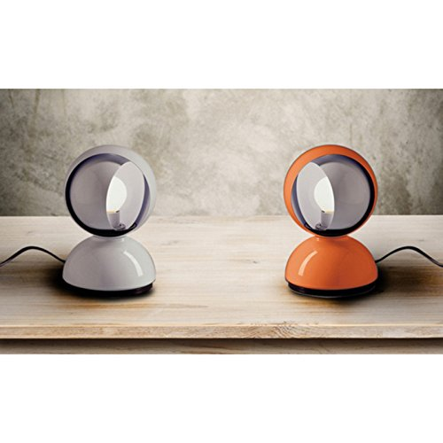 Artemide eclisse table lamp orange e12 led or halo 25w design vico artemide eclisse table lamp orange e12 led or halo 25w design vico magistretti 1967 green ankles gardening supplies equipment aloadofball Image collections