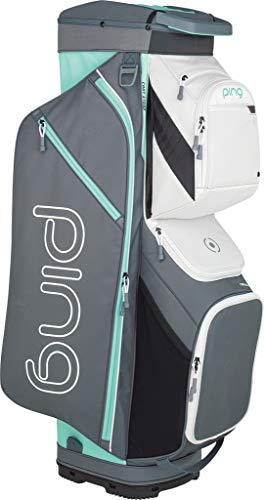 PING Women's 2019 Traverse Cart Bag (Grey/White/Mint)