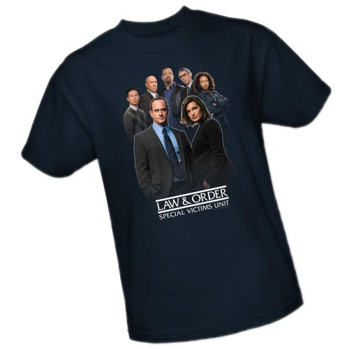 Team -- Law & Order Special Victims Unit Adult T-Shirt, XXX-Large