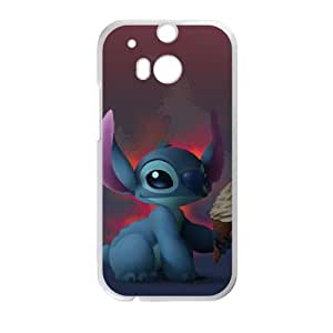 Lilo & Stitch HTC One M8 Cell Phone Case White Gift PX6REN-2645506