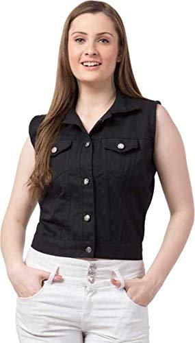 AKAR Sleeveless Solid Women Denim Jacket