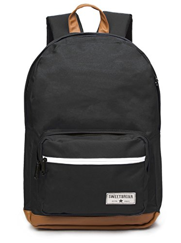 Sweetbriar Classic School Backpack - Premium Laptop Compartment Protects Computers up to 15.6