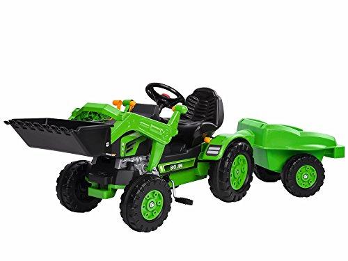 BIG 800056516 - Jim Loader und Trailer, Sport, grün