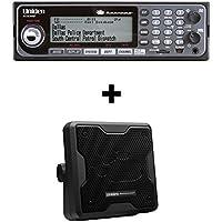 Uniden BCD536HP Phase II Digital Scanner and 20 Watt Speaker Bundle