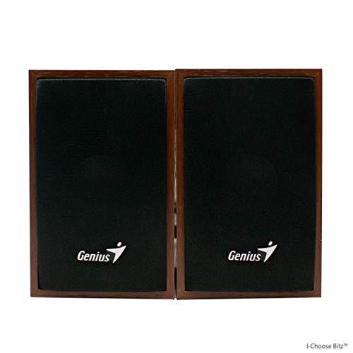 iChoose Limited Compact Multimedia 2.0 Speakers/USB Powered Wood Speaker...
