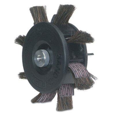 Merit Tip - Merit 350-RP Sand-O-Flex Abrasive Wheel, Round Shank, Aluminum Oxide, 6-1/2