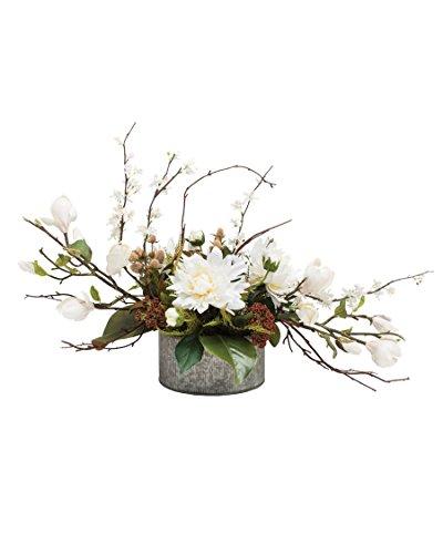 (Petals Magnolia & Dahlia Silk Flower)