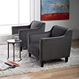 Studio Designs Home 70136 Grotto Arm Chair, Empire Charcoal